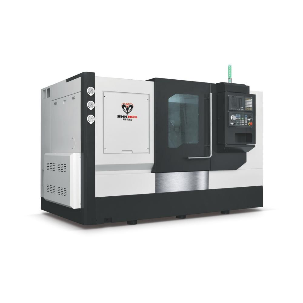 HEAVY-DUTY TURRET TYPE TAIL CAP  LATHE MACHINE SNK-46DT