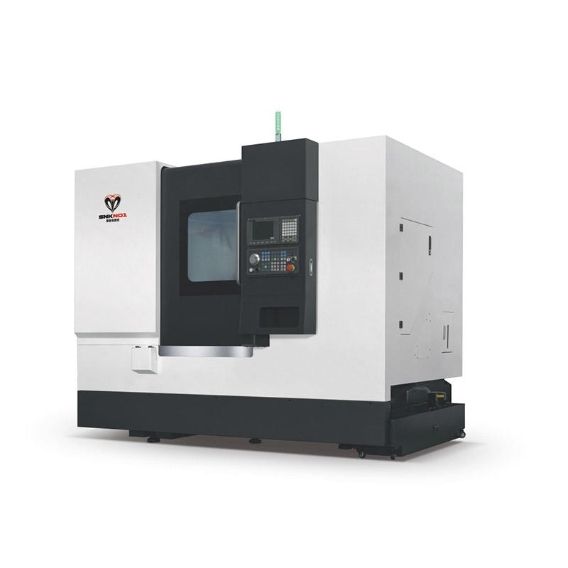 CNC lathe with turret and tail stock technical parameter SNK-550Y