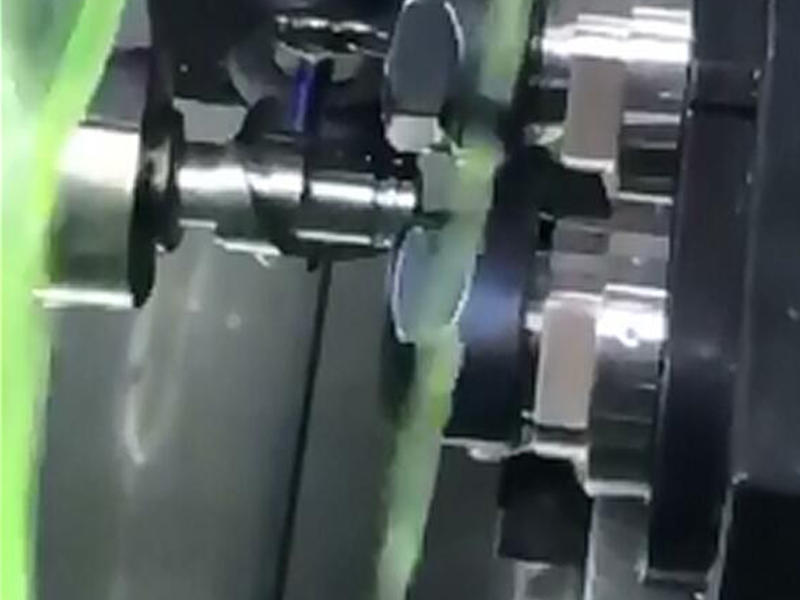 Turning and milling outer spiral groove