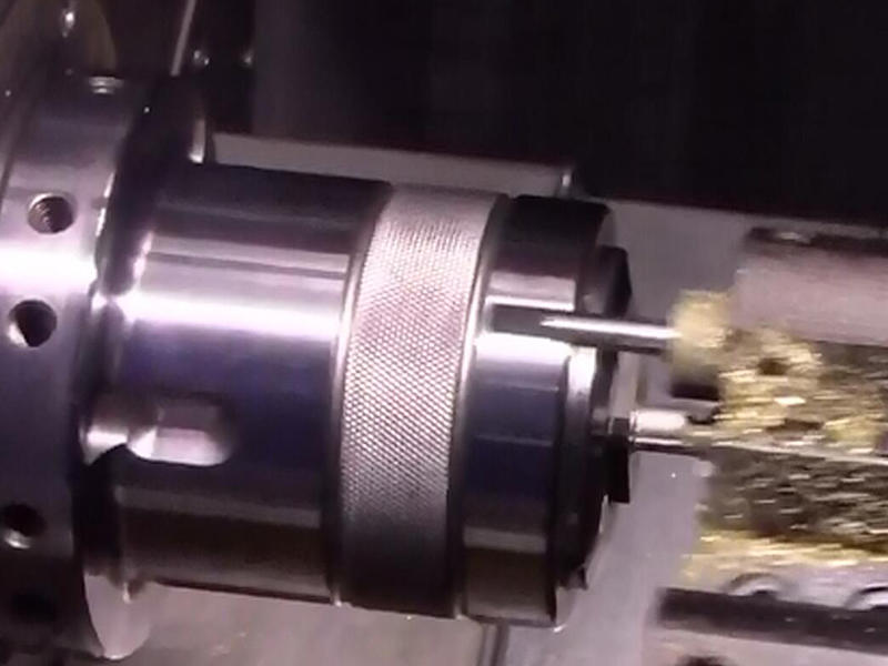 SNK-46 DTY  CNC turning-milling machine is used to make aerial socket