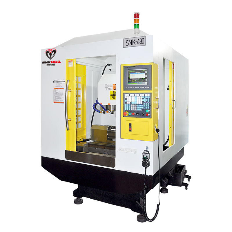CNC Engraving Five-axis carving and milling CNC lathe machining center SNK-5-480
