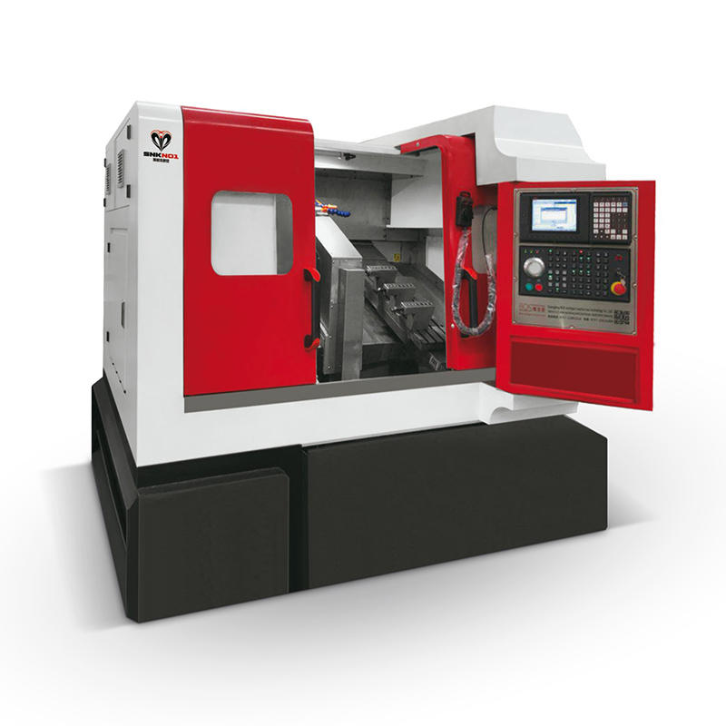 CNC High speed Double-headed CNC lathe machine SNK-J72P/SNK-J130P