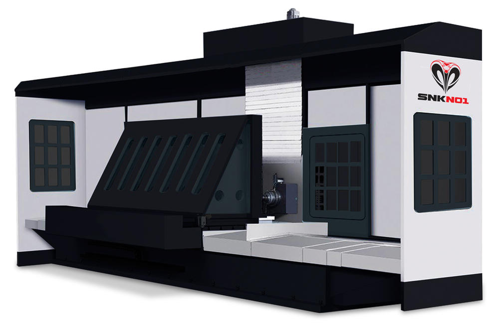 HORIZONTAL CNC MILLING MACHINE SNK-2013
