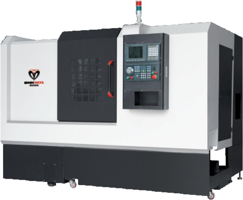 POWER TURRET TYPE CNC LATHE MACHINE SNK-46DT
