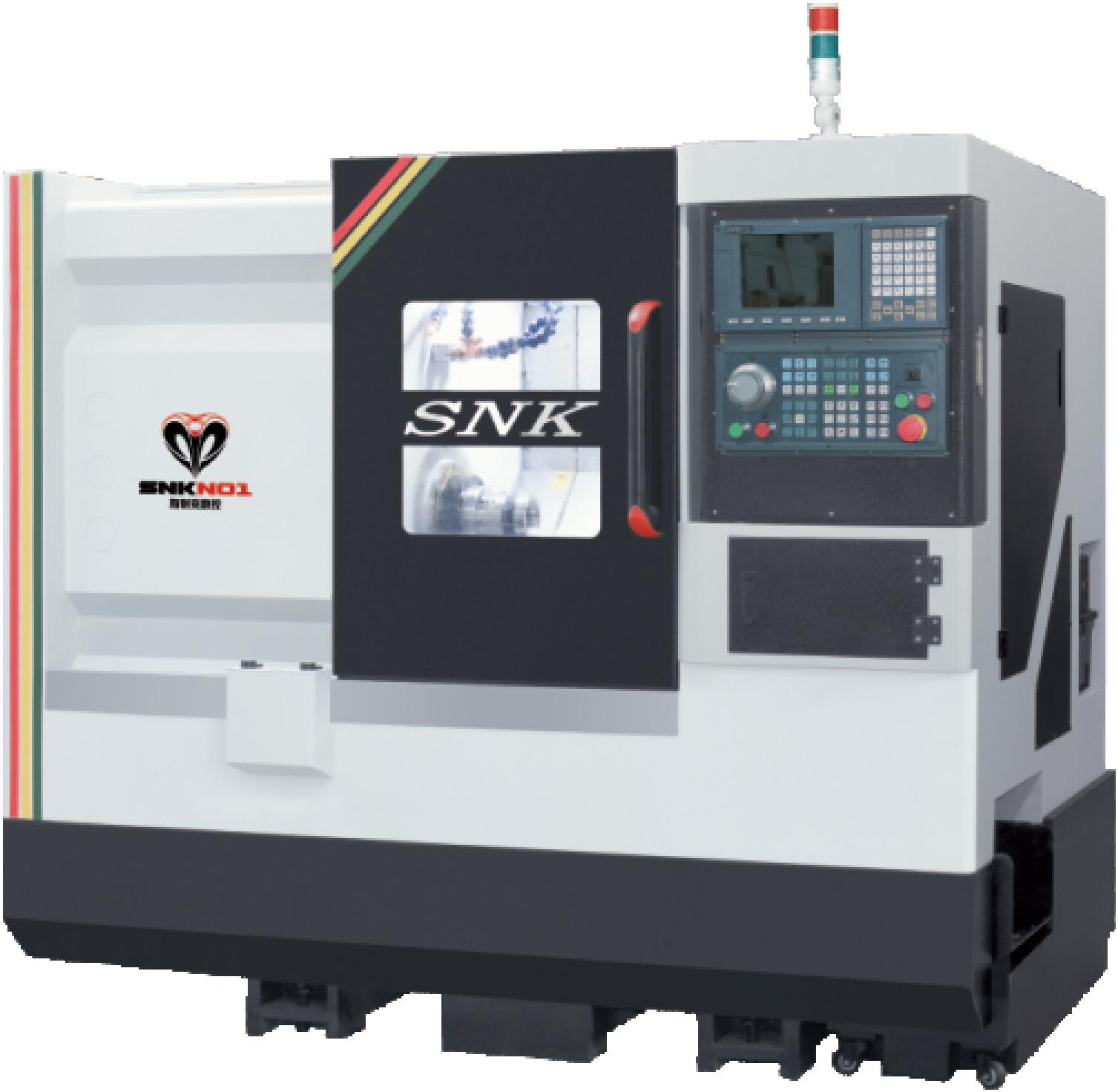 GANG TYPE CNC LATHE MACHINE SNK-46